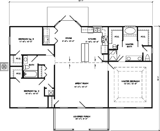 The house that jack built for 1600 sf house floor plans